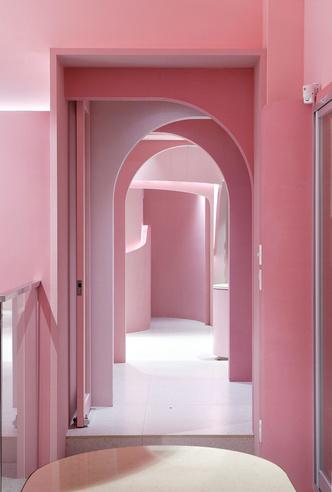 Розовый бутик Villa de Mûrir в Сеуле (фото 5.2)