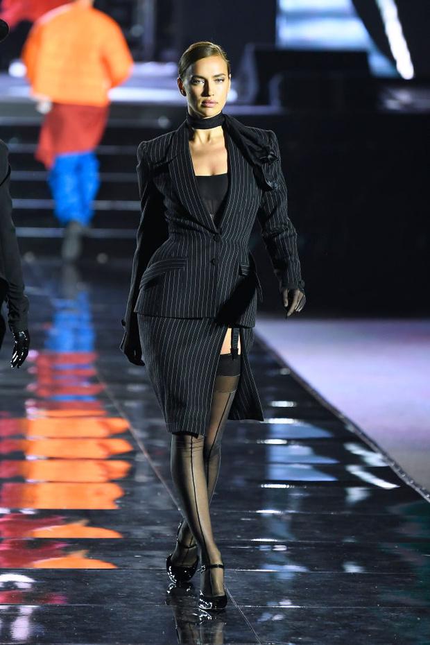 Ирина Шейк и другие российские супермодели на шоу LuisaVillaRoma (фото 3)