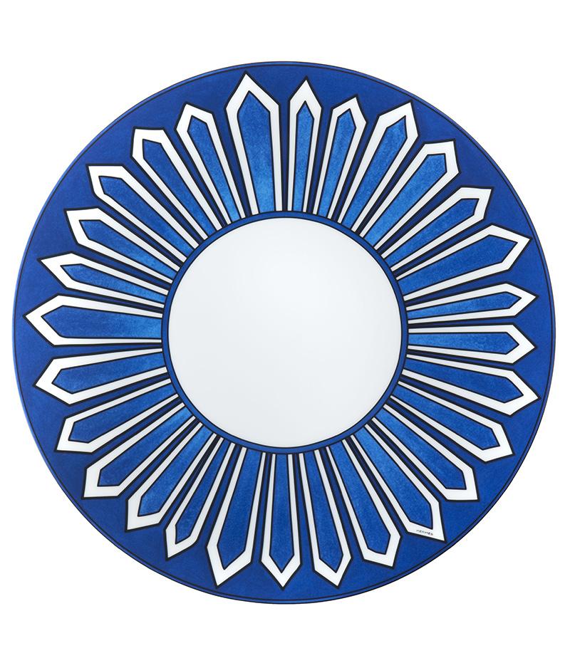 Тарелка Bleus d'Ailleurs, Hermès, бутики Hermès.
