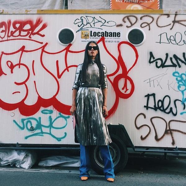 По горячим следам: новые героини стрит-стайла | галерея [1] фото [3]