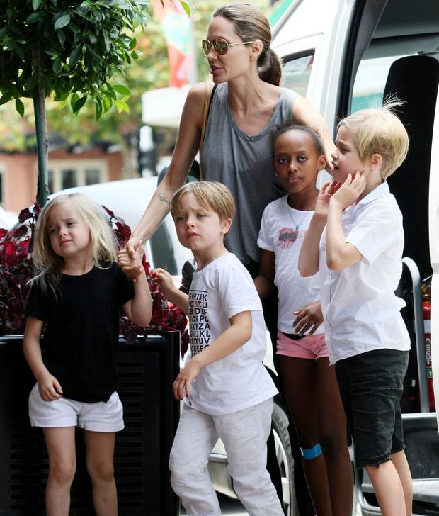 Семья Джоли-Питт