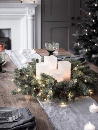 Сервировка новогоднего стола 2019: советы флориста и декоратора (фото 18.1)
