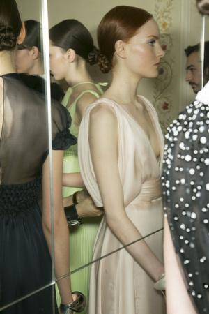 Показ Christophe Josse коллекции сезона Весна-лето 2013 года Haute couture - www.elle.ru - Подиум - фото 477820