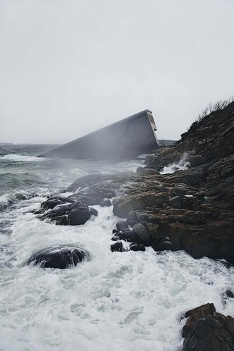 Характер нордический: подводный ресторан по проекту Snøhetta (фото 2.1)