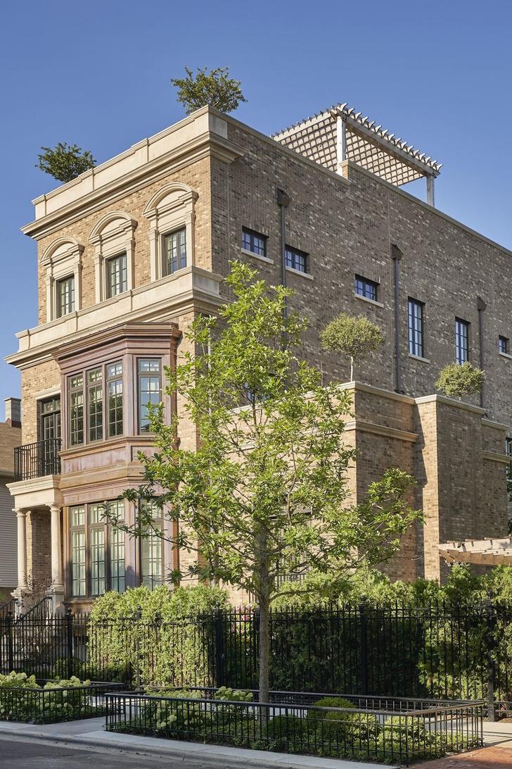 Четырехэтажный особняк в Чикаго (фото 2)