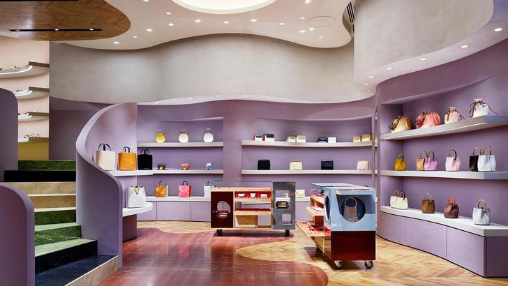Разноцветный бутик Marni в Токио (фото 0)