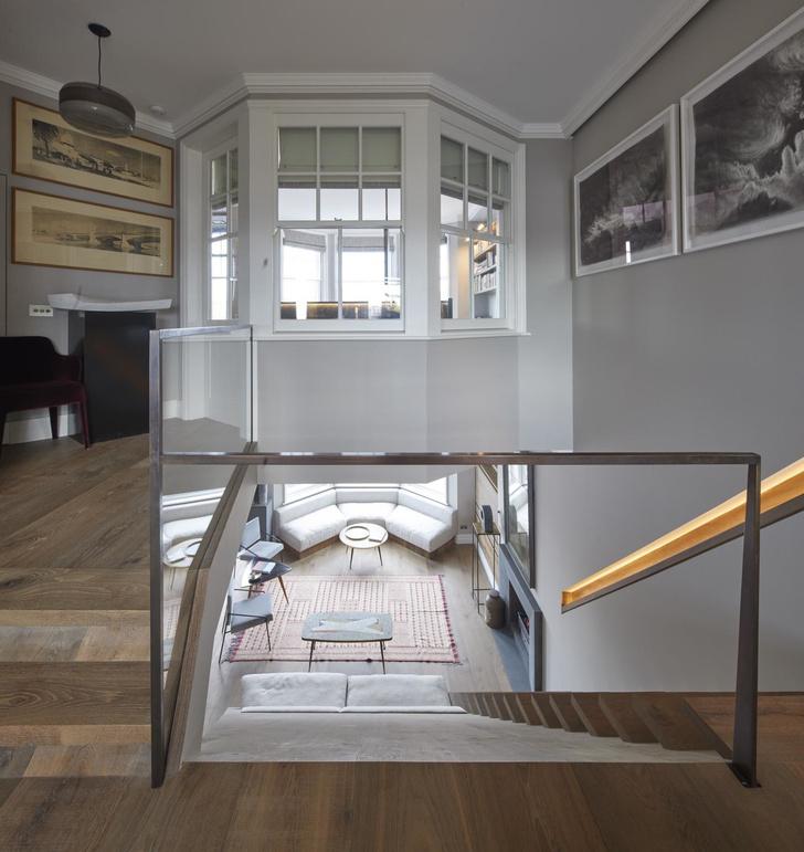 Лондонская квартира с деревянной лестницей от Deca Architecture (фото 6)