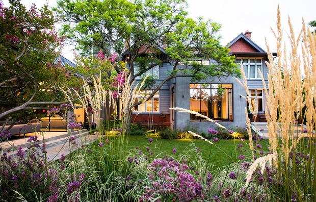 Современный дом и сад в пригороде Мельбурна (фото 2)