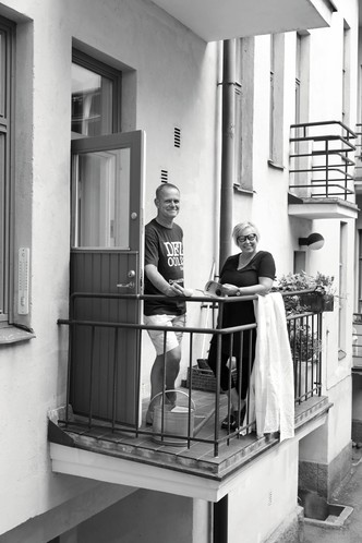 Квартира-студия творческой пары в Хельсинки (фото 2)