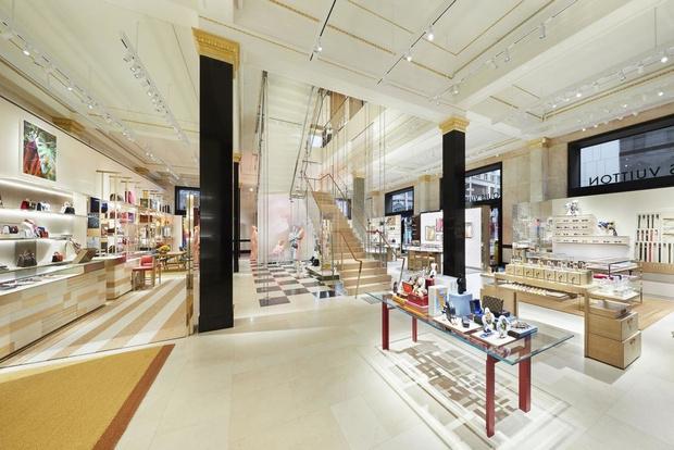 Питер Марино оформил новый флагман Louis Vuitton в Сиднее (фото 7)