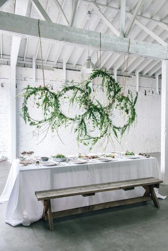 Зелень в декоре свадьбы: 7 вдохновляющих идей (фото 6.2)