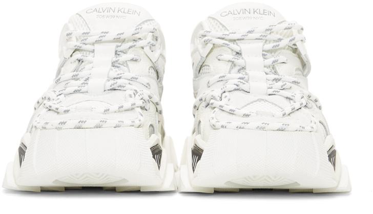 Кроссовки недели: Calvin Klein 205W39NYC White Strike 205 (фото 1)