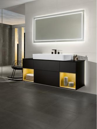 Топ 12: освещение в ванной. Мебель, зеркала, душевые лейки и ванны со встроенной подсветкой (фото 13.1)