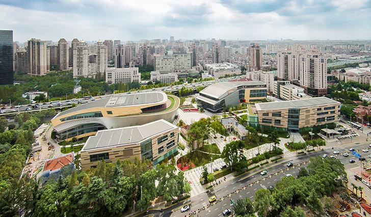 Танцевальный комплекс в Шанхае фото [2]