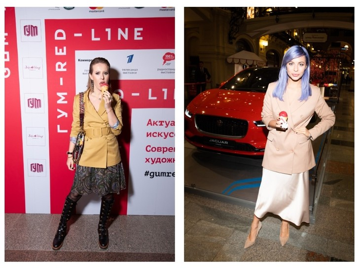 Ксения Собчак, Риналь Мухаметов и другие гости открытия выставки ГУМ-Red-Line (фото 4)