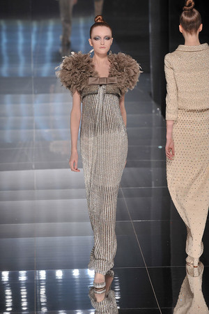Показ Valentino коллекции сезона Весна-лето 2009 года haute couture - www.elle.ru - Подиум - фото 86964
