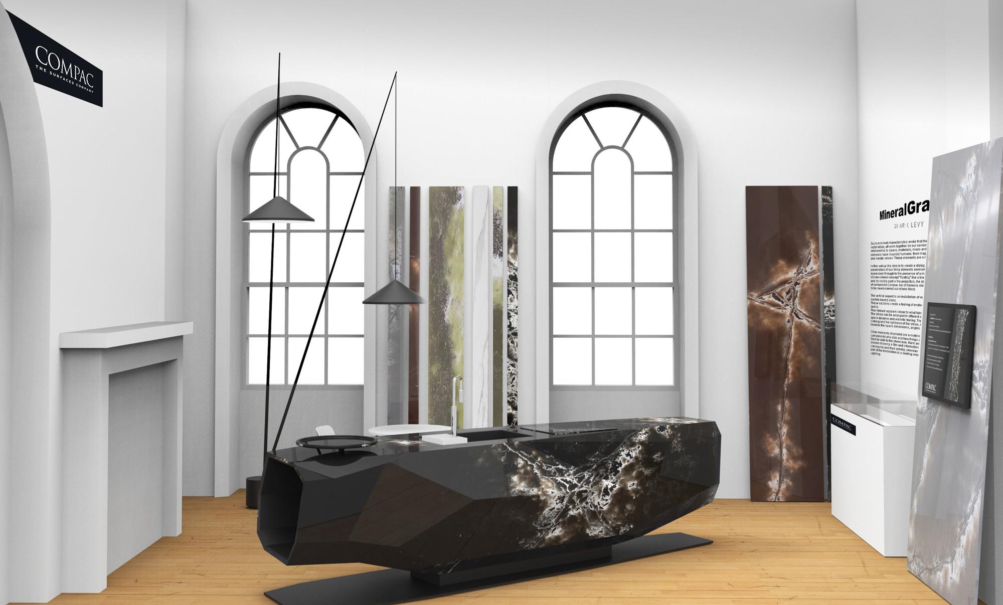 Монументальная кухня Арика Леви | галерея [1] фото [2]