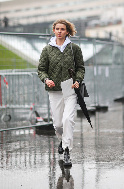 How to dress in the rain: | gallery [4] photos [4]