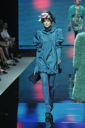 Показ Blugirl коллекции сезона Осень-зима 2009-2010 года prêt-à-porter - www.elle.ru - Подиум - фото 94328