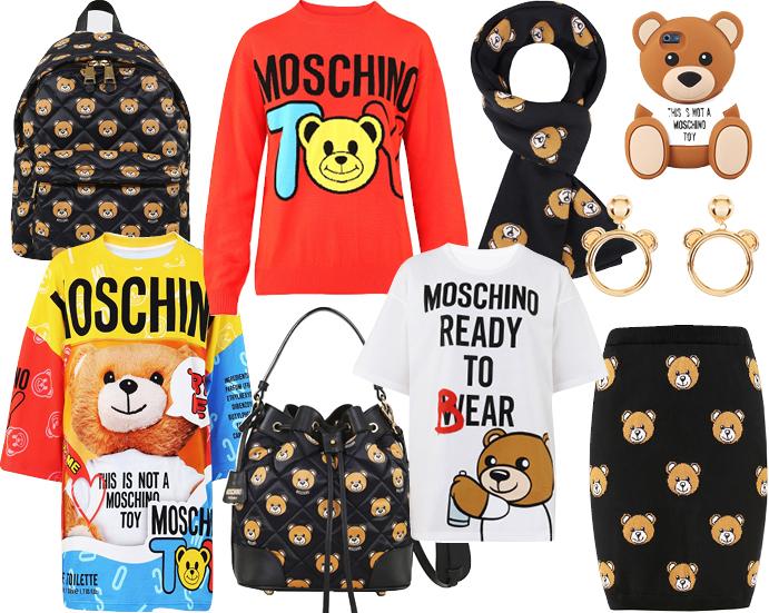 Moschino представил новую капсульную коллекцию Ready to Bear