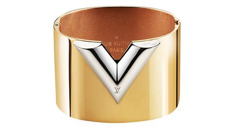 Браслет, Louis Vuitton, бутики Louis Vuitton, позолоченная латунь, 42 000 руб.