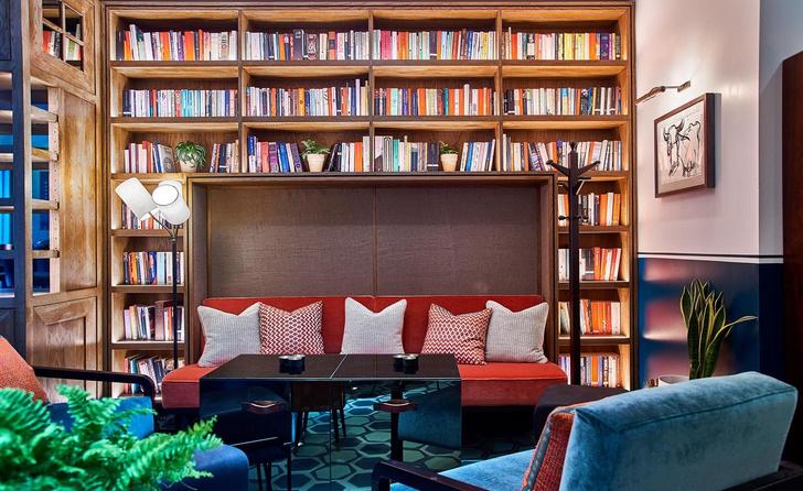 Чай и книги: бар Тильды Суинтон в Лондоне (фото 2)