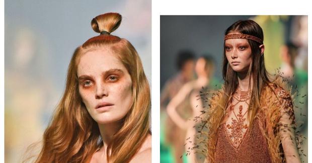 Никакого «нюда»: макияж с последнего показа Jean-Paul Gaultier (фото 18)