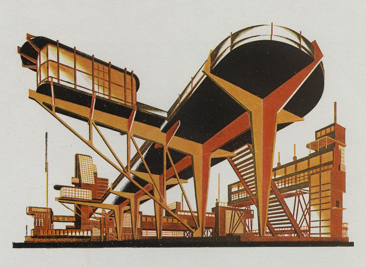 В Музее архитектуры открывается выставка «Яков Чернихов. Образы архитектуры» | галерея [1] фото [5]