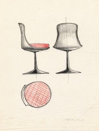 Культовый объект: стул Tulip Ээро Сааринена (фото 4.1)