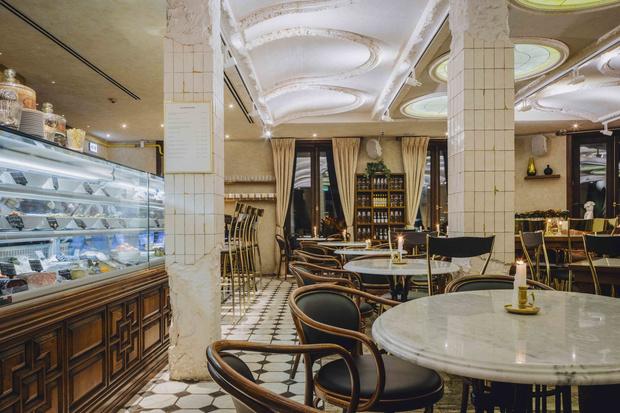 Топ 3: дизайнерские рестораны Уильяма Ламберти в Москве (фото 8)