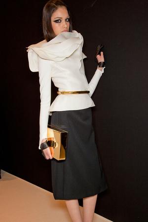 Показ Stephane Rolland коллекции сезона Весна-лето 2012 года Haute couture - www.elle.ru - Подиум - фото 332074