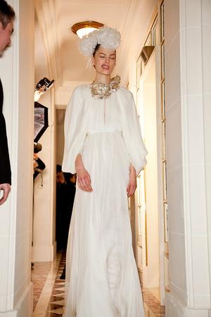 Показ Giambattista Valli коллекции сезона Весна-лето 2012 года Haute couture - www.elle.ru - Подиум - фото 330953