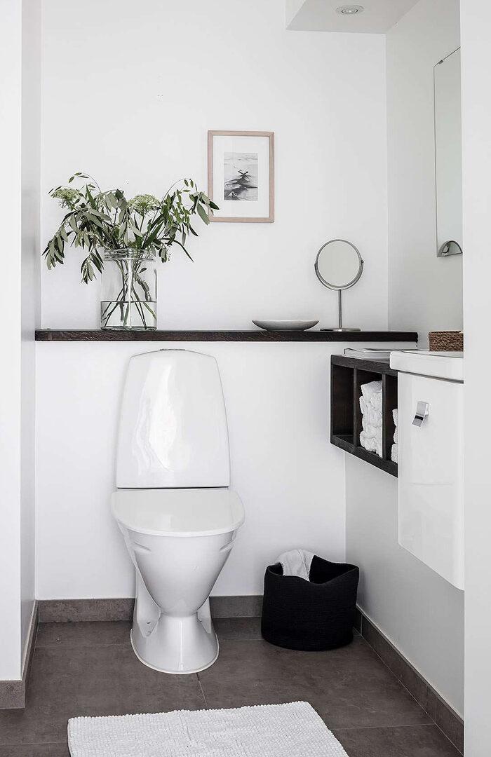 Маленькая ванная: 7 главных правил (фото 24)
