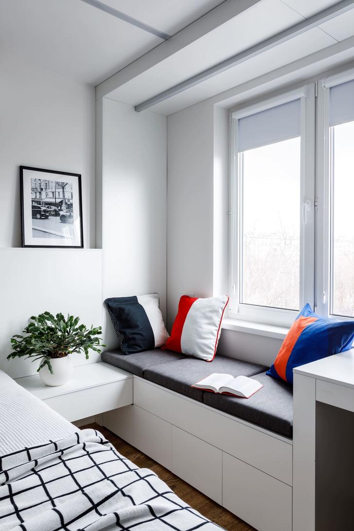 Маленькая спальня: 7 практичных решений (фото 14)