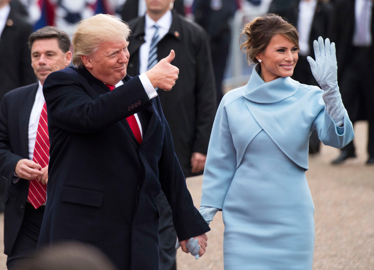 Мелания Трамп обогнала супруга по популярности (фото 3)