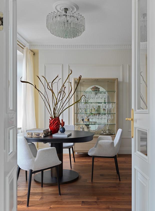 Квартира для семьи с тремя детьми в классическом стиле 140 м² (фото 5)