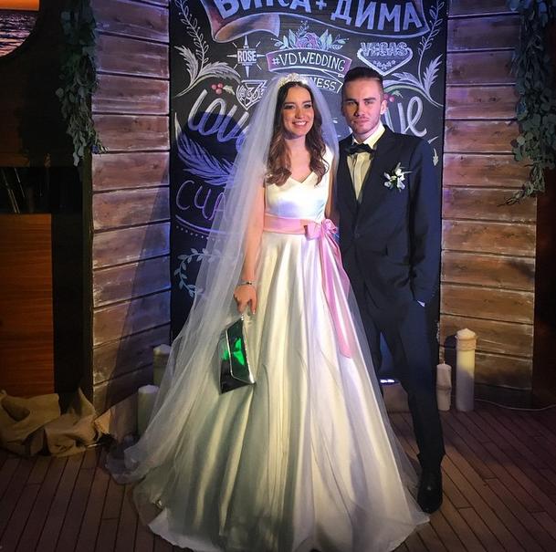 Свадьба Виктории Дайнеко и Дмитрия Клеймана