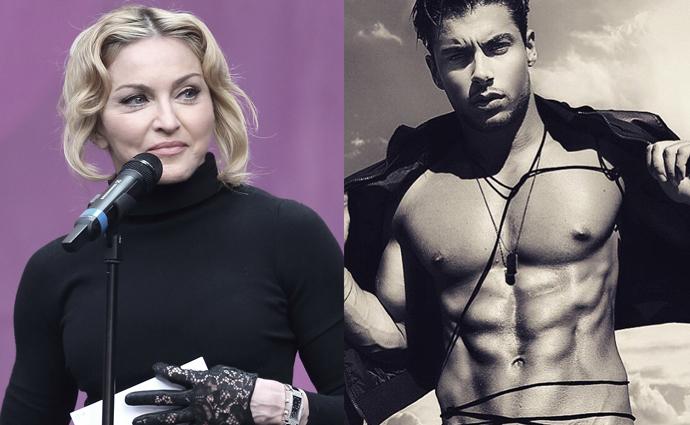 Мадонна и Андреа Денвер