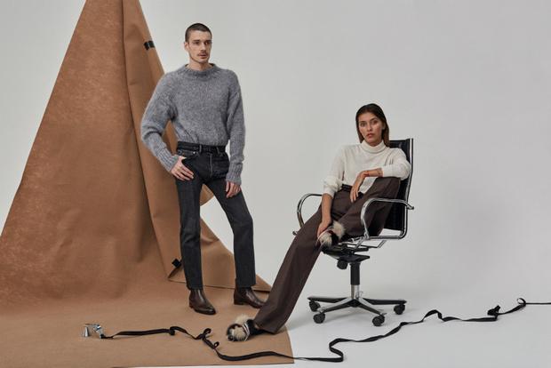 Регина Тодоренко и Максим Матвеев в новой рекламной кампании NO ONE фото [1]