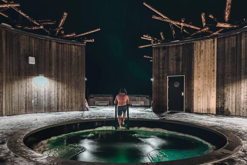 Arctic Bath: плавучий отель в Швеции (галерея 12, фото 3)