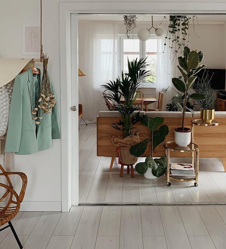 Уютная квартира с винтажной мебелью в Познани (фото 5)