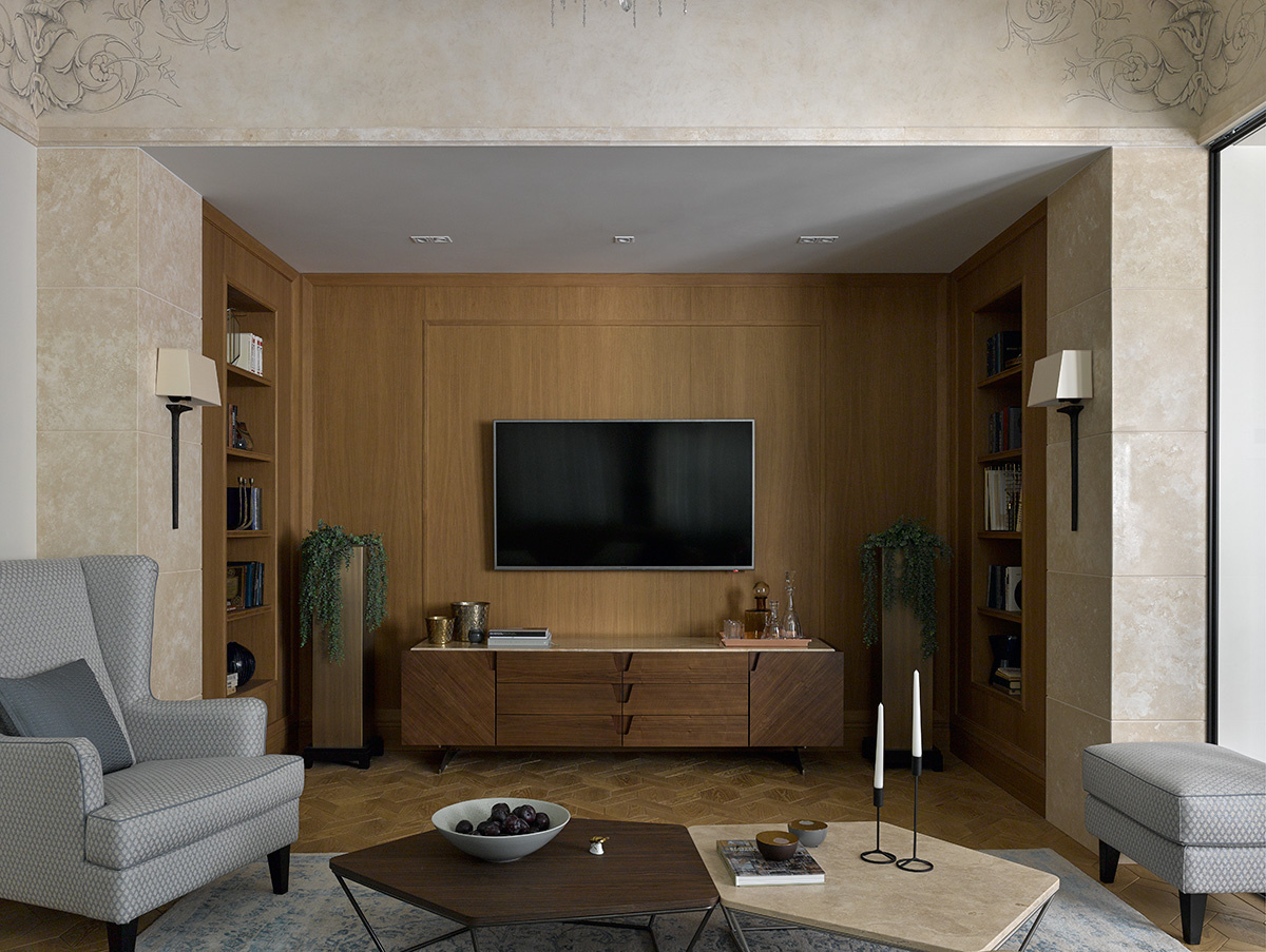 Телевизор в интерьере: 25 примеров оформления (галерея 0, фото 0)