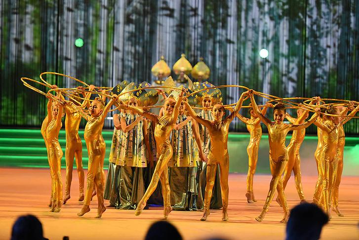 Фестиваль художественной гимнастики «Алина»
