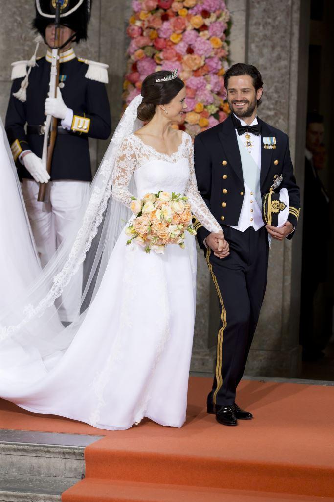 Принц Швеции Карл Филипп женился на бывшей модели