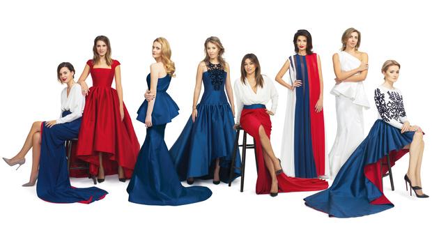 Кира Пластинина представила коллекцию вечерних платьев, посвященную Зимним Олимпийским Играм
