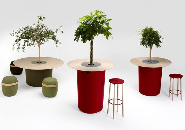 Кашпо и мебель для домашних растений (фото 1)