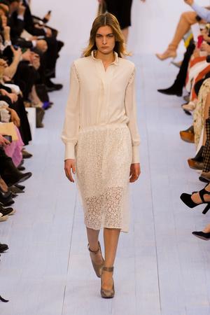 Показы мод Chloé Осень-зима 2012-2013 | Подиум на ELLE - Подиум - фото 1407