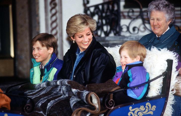 Редкие кадры принцессы Дианы с детьми (фото 7)
