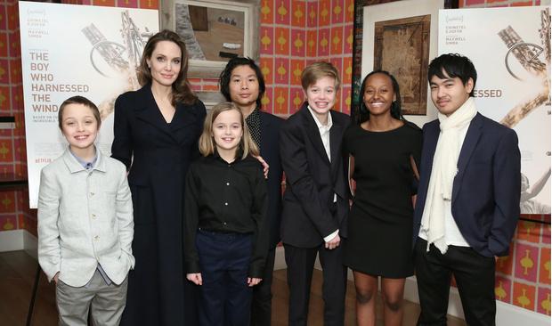 Чем занимается на карантине Анджелина Джоли и ее дети? (фото 1)