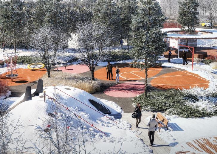 Компания Arteza разработала ландшафтную концепцию развития  общественных зон города Доброград (фото 6)
